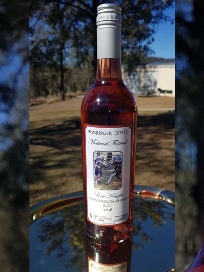 2018 Chambourcin – Shiraz Rose – The Rose Knight