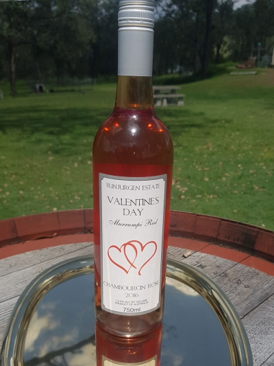 "2015 CHAMBOURCIN Rose  ""Murrumpi Red"""